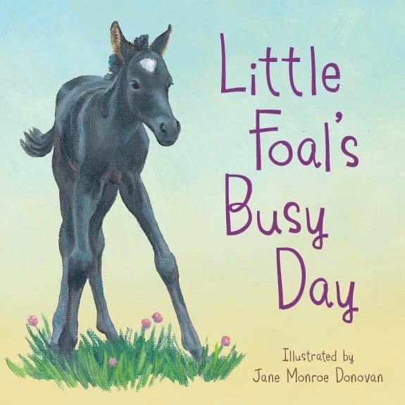 Little Foals Busy Day  Board Book