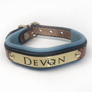 Delux English Padded Garment Leather Bracelet