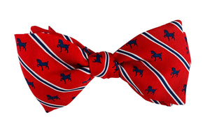 Vineyard Vines Devon Bow Tie- Red Stripe