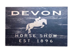 Blue 84 Devon Wall Sign