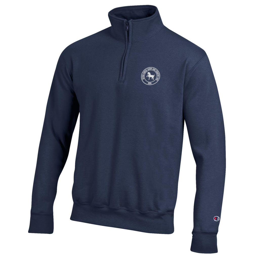 Champion 1/4 Zip Sweatshirt- Navy