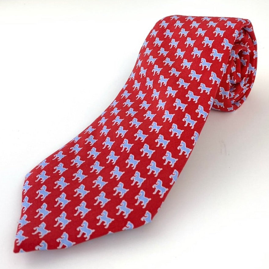 Vineyard Vines Devon Tie- Red
