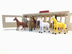 Melissa & Doug Take Along Stable