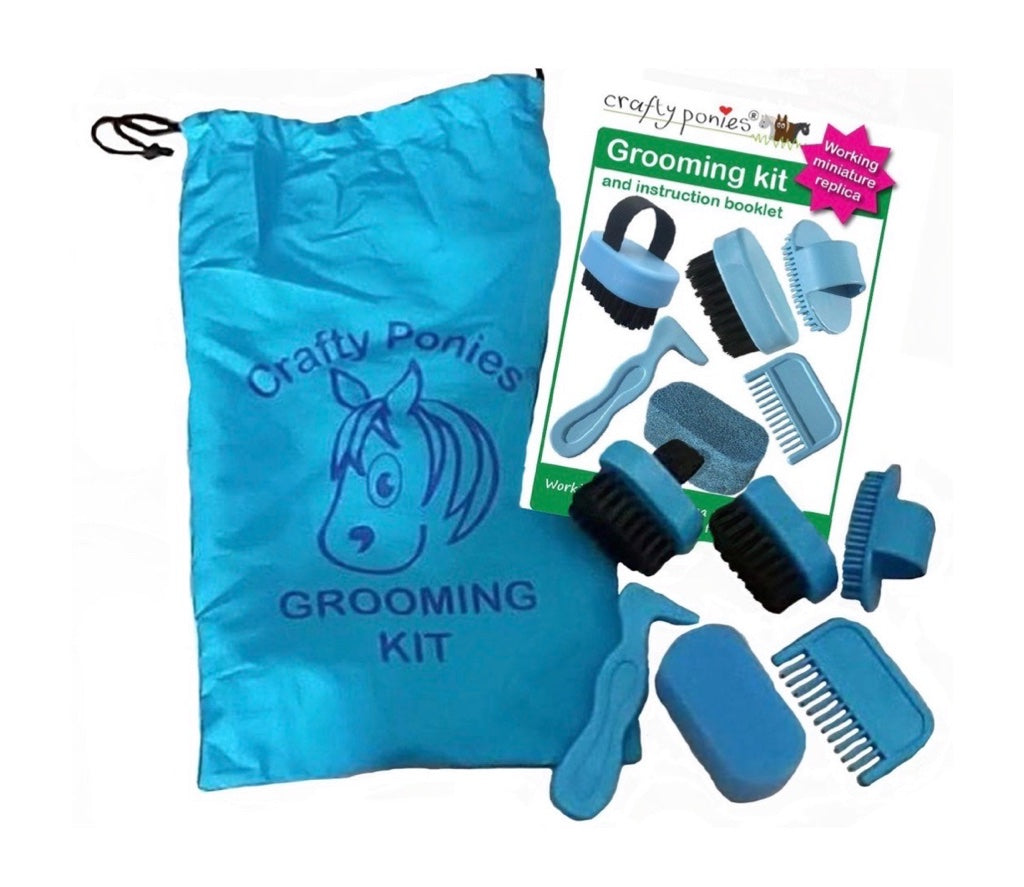 Crafty Pony Grooming Kit & Booklet