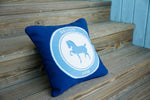 Devon Logo Needlepoint Pillow