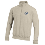 Champion 1/4 zip Sweatshirt- Oatmeal Heather