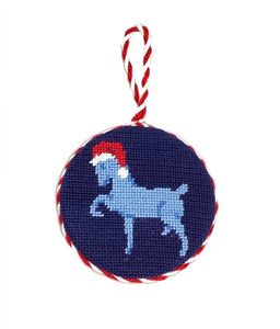 Smathers & Branson Needlepoint Christmas Ornament