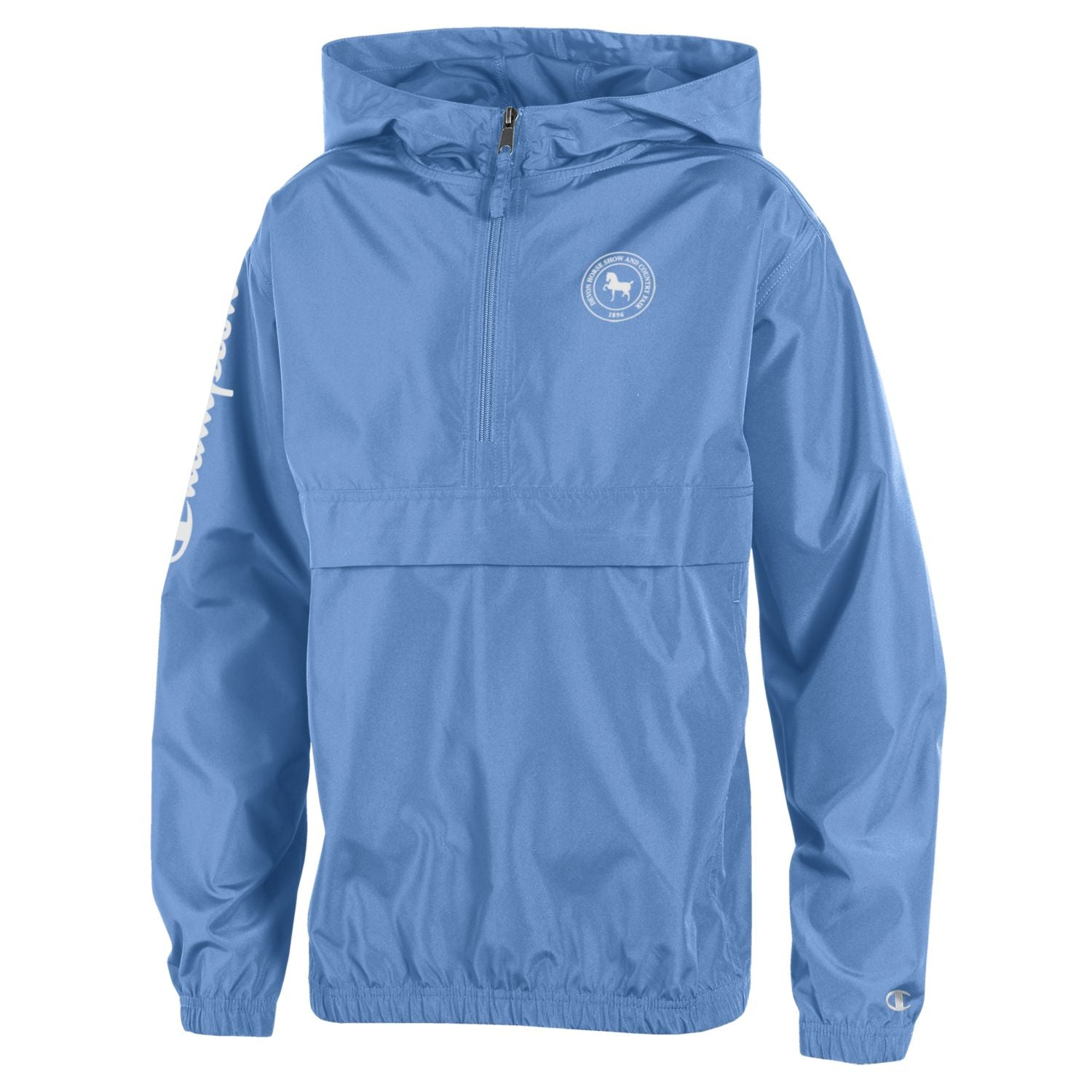Champion Youth Pack 'n Go Jacket -Light Blue