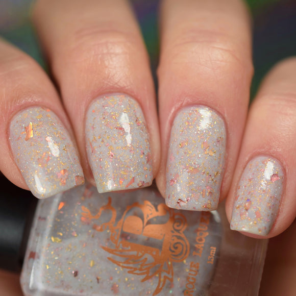 Rose gold sprinkles