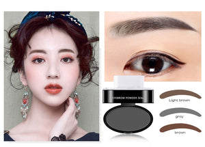 Curved Waterproof Eyebrow Stamp