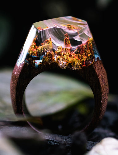 AUTUMN RIVER RING