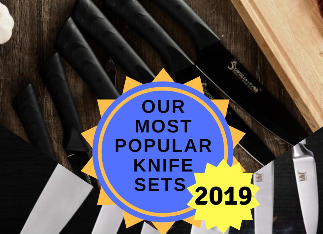 Our Most Popular Knife Sets for 2019