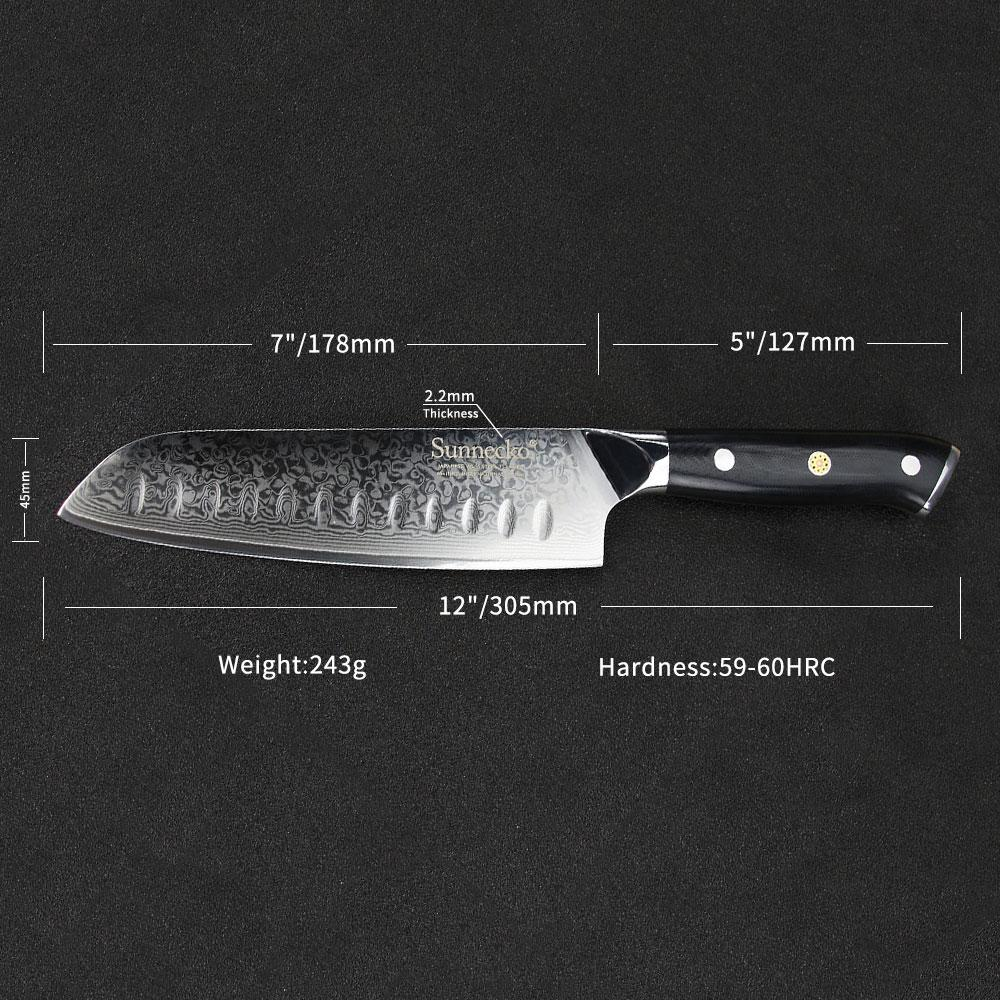 5-Piece Set of Damascus Steel Knives - Incredible Value and Long-Lasting-Kioro Knives
