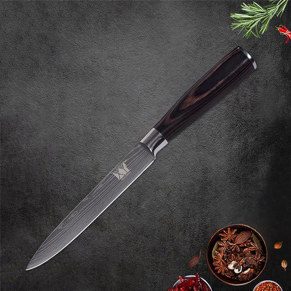 Premium Quality Japanese Kitchen Knife Set - Style №5