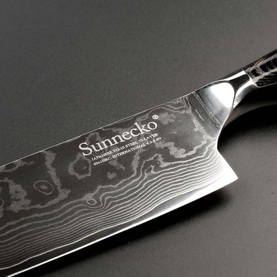 Damascus Steel Cleaver - Heavy-Duty Design for Chopping Meat and Bones-Kioro Knives