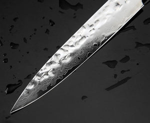Damascus Steel Paring Knife - Beautiful Design and Impressive Capability-Kioro Knives