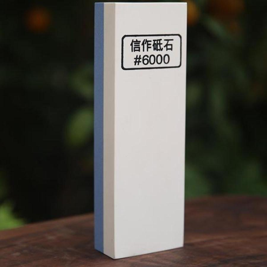 Double-Sided 1000/6000 Grit Sharpening Stone - Standard Two-Step Sharpening Grades-Kioro Knives