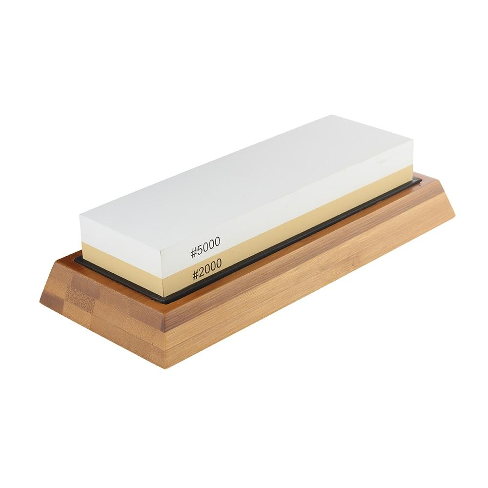 Double-Sided 5000/2000 Grit Sharpening Stone - The Perfect Stone for Heavy Duty Knives-Kioro Knives