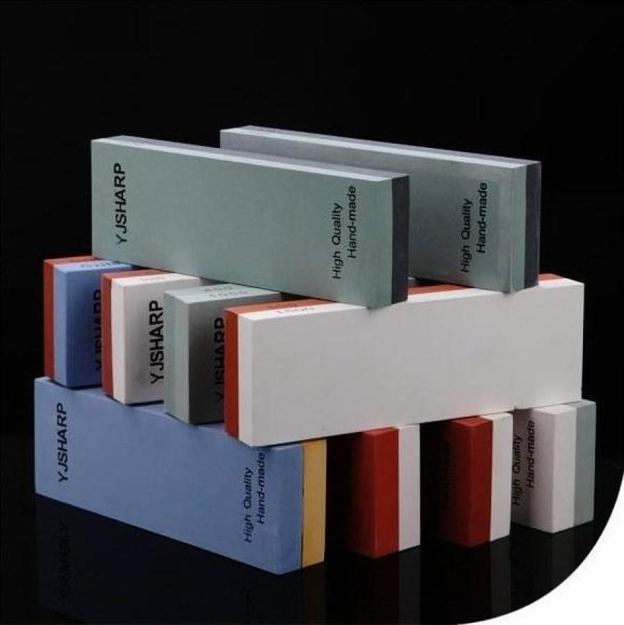 Double-Sided Sharpening Stones - Choose Precise Sharpness Grades-Kioro Knives