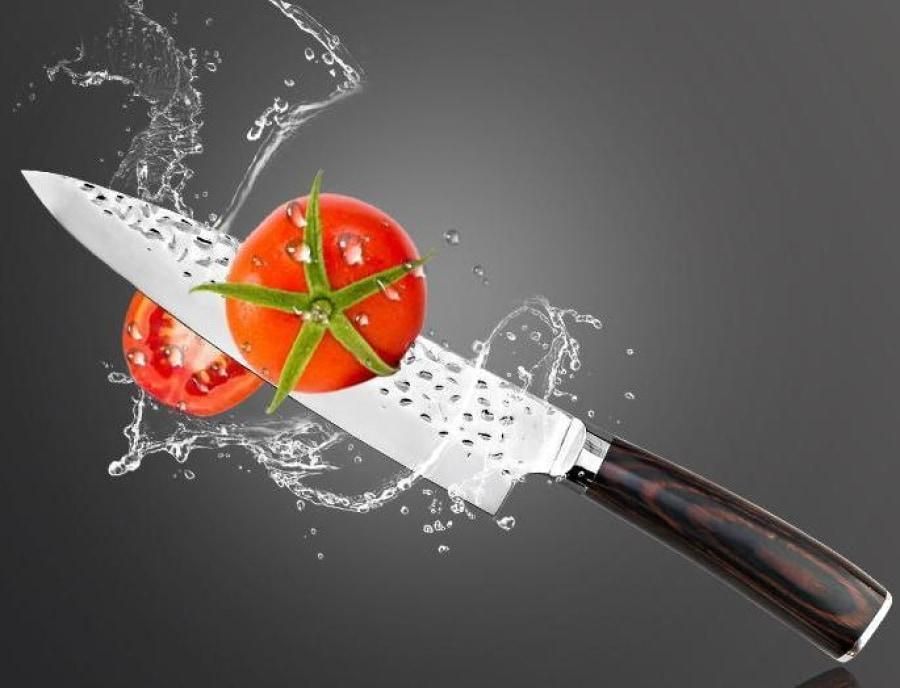 High Carbon Stainless Steel Chef Knife - Beauty that Slices with Power-Kioro Knives