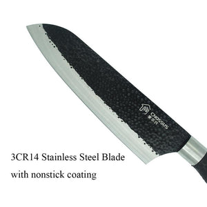 Japanese Santoku Stainless Steel Knife - The Professional Chef's Favorite-Kioro Knives