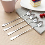 Long-Handled Tea Spoon - Excellent for Formal Coffees, Cafes, and Desserts-Kioro Knives