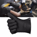 Silicone Heat-Resistant Glove - Maximum Protection, Access, and Flexibility-Kioro Knives