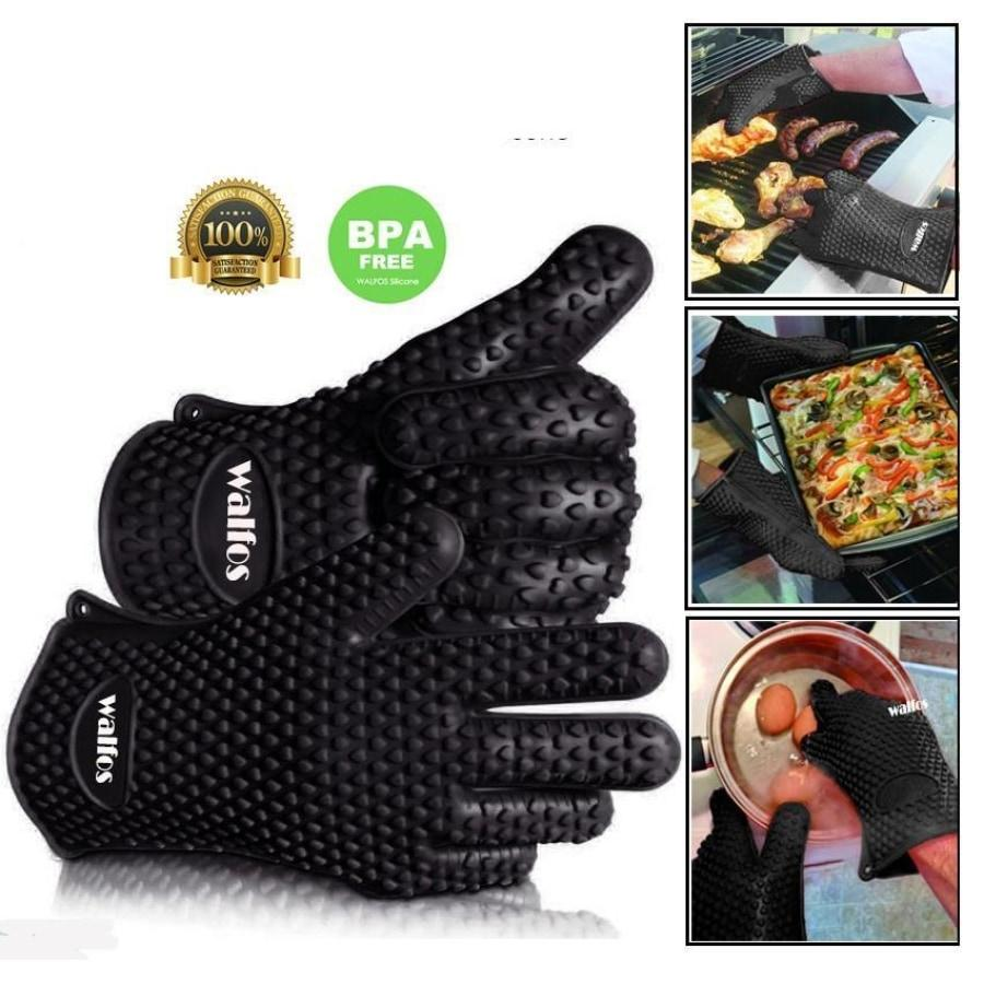 Silicone Oven Glove - Superior Heat Resistance for Safer Cooking-Kioro Knives