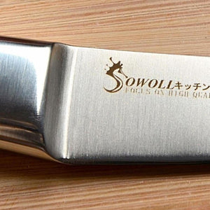 Stainless Steel Paring Knife - Ergonomically Shaped Handle for Detailed Results-Kioro Knives