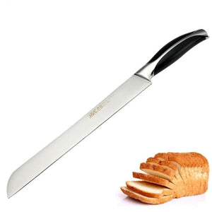 Stainless Steel Serrated Knife - For Flawless Bread Slices-Kioro Knives
