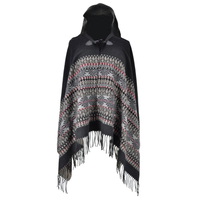 YOUNG USA® - Ladies Hooded Poncho