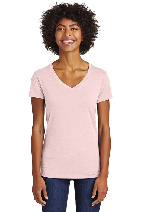 Alternative Women's Runaway Blended Jersey V-Neck Tee. AA6046