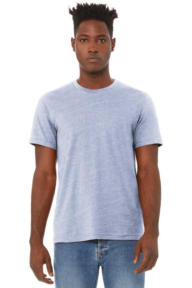 BELLA+CANVAS ® Unisex Heather CVC Short Sleeve Tee. BC3001CVC
