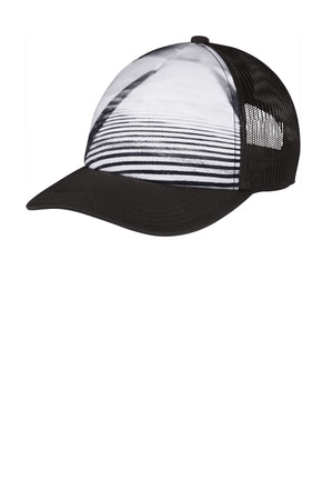 Port Authority ® Photo Real Snapback Trucker Cap C950