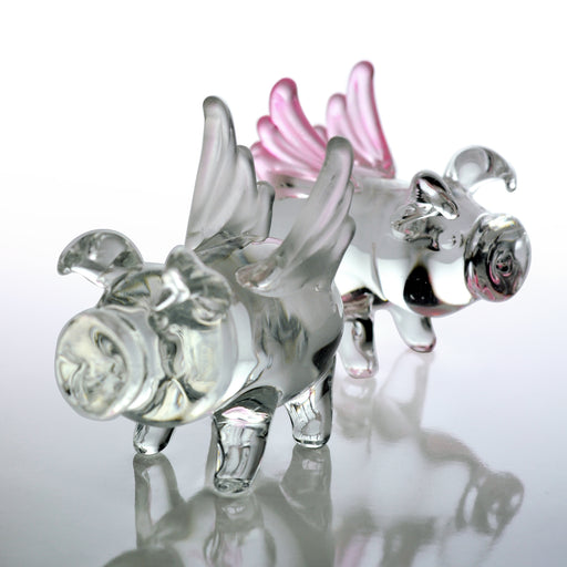 Crystal Castle®| Glass Pig with Wings
