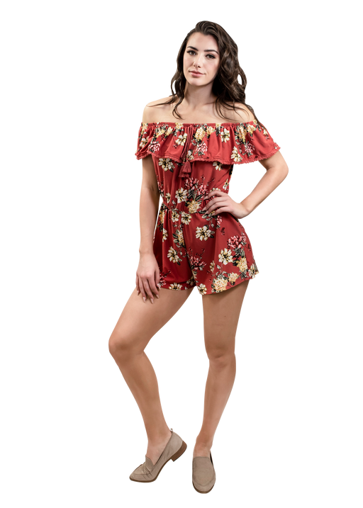 YOUNG USA® - Ladies Romper