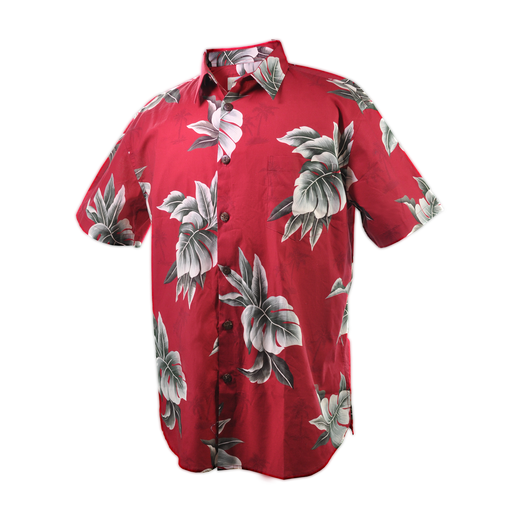 Men's Vintage Hawaiian Shirt - Tree Leaves