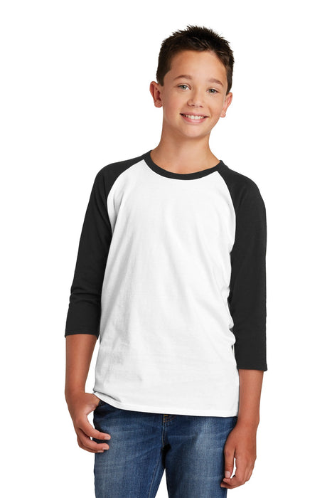 District ® Youth Very Important Tee ® 3/4-Sleeve . DT6210Y