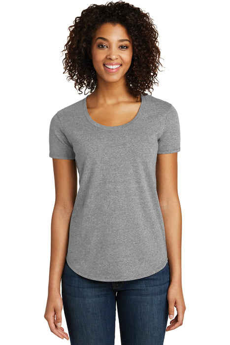 District® Women's Fitted Very Important Tee® Scoop Neck. DT6401