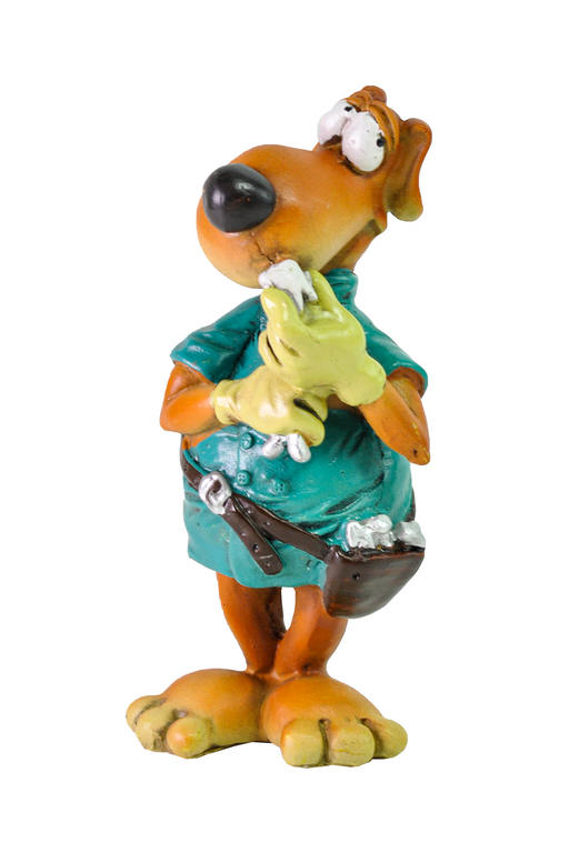 Dentist Dog Figurine by Crystal Castle®