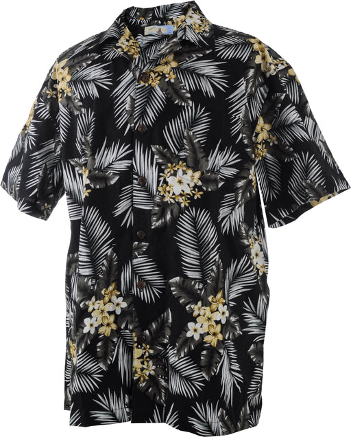 Men's Hawaiian Vintage Shirt - Palm Leaves