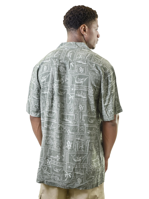 Men's Hawaiian Shirt, Abstract