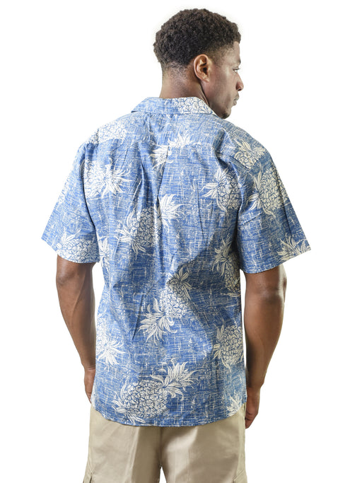 Men's Hawaiian Shirt, Pineapple