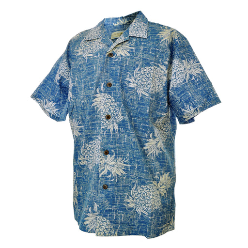 Men's Hawaiian Shirt - Vintage Pineapple