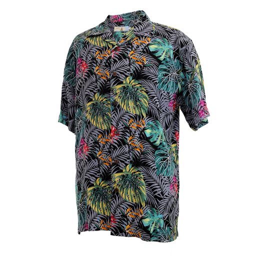 Men's Vintage Hawaiian Shirt - Tropical