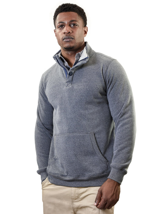 YOUNG USA® - Men's Pullover Sherpa Sweatshirt