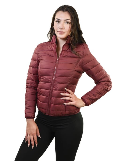 Young USA® - Ladies Packable Puffer Coat