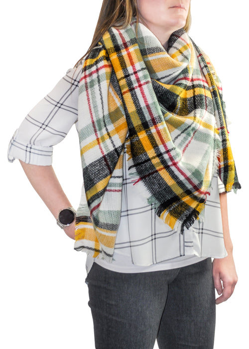 Young USA® -  Lightweight Blanket Scarf (SET OF 2)