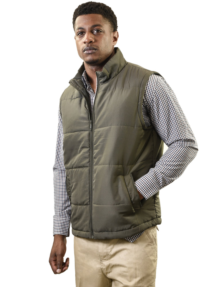 YOUNG USA® - Men's Lightweight Puffer Vest
