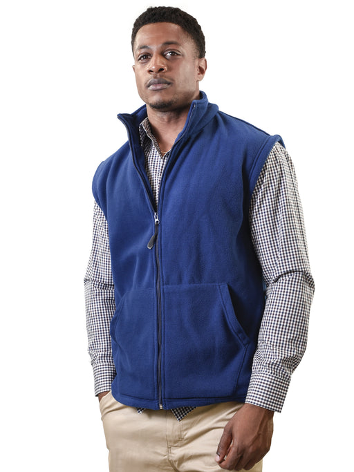 YOUNG USA® - Adult Fleece Vest, Full Zip